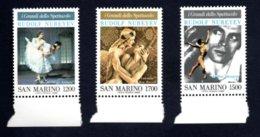 Francobolli San Marino 1989 - Nuovi - 3 Valori - San Marino