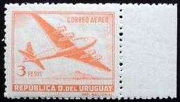 1947  URUGUAY Mnh AIR MAIL Yvert A134 - Quadrimotor Aircraft Four-engine - Uruguay