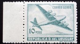 1947  URUGUAY Mnh AIR MAIL Yvert A135A - Quadrimotor Aircraft Four-engine - Uruguay