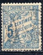 Tunisie 1901 Timbre Taxe  5c Bleu N° 28 - Tunisia (1888-1955)