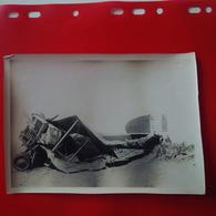 PHOTO MAROC TAZA ACCIDENT D AVION 1926 - Aviation