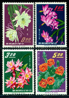 CHINA-Taiwan 1964 Cactus,Kakteen,Flowers,Blumen,Fiori,Fleurs,Mi.509-12,MNH - Sukkulenten