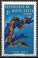 HAUTE VOLTA   -   1966.    Y&T N° 161 *.   Serpent  /  Python Royal - Alto Volta (1958-1984)
