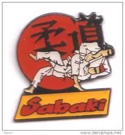 C208 Pin's JUDO SABAKI CLUB D'AÏKIDO De Saint Palais En Charente Maritime Achat Immediat - Judo
