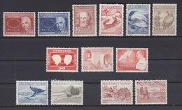 Groenland, N° 53 à 65 (divers Sujets Dont Niels Bohr, Baleine, Animaux ...), Neufs ** - Groenlandia