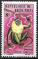 HAUTE VOLTA   -   1966.    Y&T N° 165 *.   Singe Vert - Alto Volta (1958-1984)