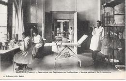 SAINTE FEYRE ( 23 ) -  Service Médical  - Le Laboratoire - Sana Des Instits - Other Municipalities