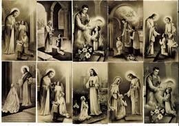 GROEP KL 019 - SOUVENIR DE COMMUNION  - VERSO BLANCO - - Images Religieuses