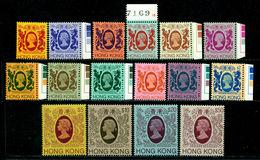 Hong Kong 1982 Elisabeth II,Dragon,Tiger,Coat Of Arms,Mi.388-3,MNH,CV=$225 - Hong Kong (...-1997)