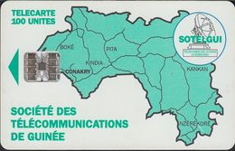 GUINEA - GUI-07 - Green Map Of Guinea - SC7 - Guinee