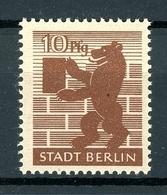 SBZ Berlin MiNr. 4 A A Waz S Postfrisch MNH Geprüft (F739 - Zona Sovietica