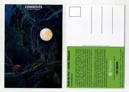 Charente Le Département. Scutella éditions BD. Jean De Fer, Cécile Chicault. Visuel Champignons Et Clair De Pleine Lune - Cómics