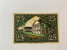Allemagne Notgeld Rheinsberg 25 Pfennig - [ 3] 1918-1933 : Weimar Republic