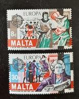 MALTE   Europa 1982   N° Y&T  649 Et 650  ** - Malta