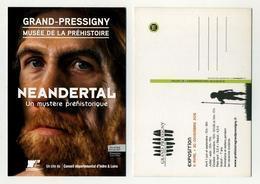 Musée De La Préhistoire à Grand-Pressigny. Expo 2015 Néandertal, Le Mystère Préhistorique. Inder Et Loire - Musei