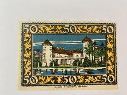 Allemagne Notgeld Rheinsberg 50 Pfennig - [ 3] 1918-1933 : Weimar Republic