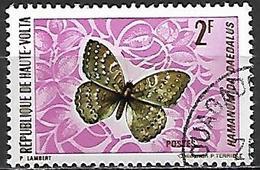 HAUTE VOLTA   -   1971  .  Y&T N° 243 Oblitéré  -   Papillon - Alto Volta (1958-1984)