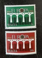 MALTE   Europa 1984   N° Y&T  685 Et 686  ** - Malta
