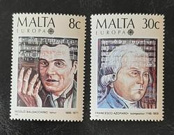 MALTE   Europa 1985   N° Y&T  707 Et 708  ** - Malta
