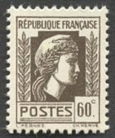 France N°634  Neuf ** 1944 - Francia