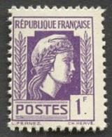 France N°637  Neuf ** 1944 - Francia