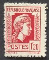 France N°638  Neuf ** 1944 - Francia