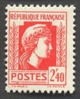 France N°641  Neuf ** 1944 - Francia