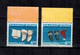 GRÖNLAND , Greenland - 1998 - ** , MNH , Postfrisch , Mi.Nr. 329 X - 330 X (aus MH) - Groenland