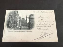 CPA 1899 Nancy Rue De La Constitution Et La Cathédrale - Nancy