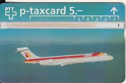 SWITZERLAND(L&G) - IBERIA, CN : 409L, Tirage 3000, 09/94, Used - Airplanes