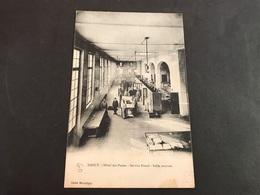 CPA 1900/1920 Nancy Hôtel Des Postes Service Postal Dalle Central - Nancy