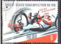 Poland  2016 - The Successes Of Polish Paralympic - Mi.4889 - Used - Used Stamps