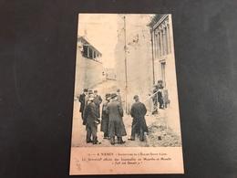 CPA 1900/1920 Nancy Inventaire De L'église Saint Léon Le Serrurier Fait Son Devoir - Nancy