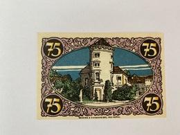 Allemagne Notgeld Rheinsberg 75 Pfennig - [ 3] 1918-1933 : Weimar Republic