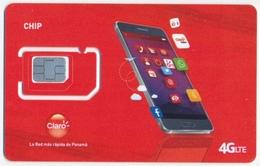 PANAMA CLARO GSM (SIM) CARD 4G LTE RED MINT UNUSED - Panama
