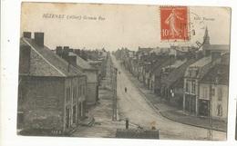 CPA .D.03, ,Bézenet ( Allier ) Grande Rue , Ed. Tourrel 1915 - Andere Gemeenten