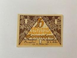 Allemagne Notgeld Sonneberg 25 Pfennig - [ 3] 1918-1933 : Weimar Republic