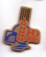 D32 Pin's La Poste France Telecom Gers Syndicat FO épis De Blé Achat Immédiat - France Telecom