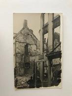 Antwerpen  FOTOKAART  Vernielingen Lombardenvest     (Bombardement 7-8-9 Oktober 1914    EERSTE WERELDOORLOG) - Antwerpen