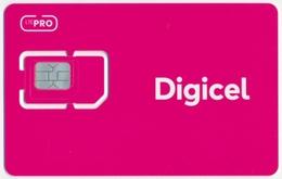 PANAMA DIGICEL GSM (SIM) CARD LTE PRO PINK MINT UNUSED - Panamá
