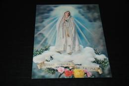 13634-                Nossa Senhora De Fatima - 3D - Cartoline Stereoscopiche