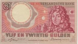 25 FLORINS 10 AVRIL 1955 - [2] 1815-… : Kingdom Of The Netherlands