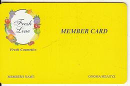 GREECE - Fresh Line, Member Card, Sample - Non Classificati