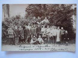 SOUVENIR D'AIGUILLON CAMPAGNE 1915 HOPITAL N°80 BIS CARTE PHOTO - France