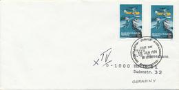 AAT -  AUSTRALIAN ANTARCTIC TERRITORY  -  DAVIS  -  10 JAN 1974  FD  , Meerestiere ... - Brieven En Documenten
