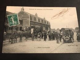 CPA 1900/1920 Scène De Douane à La Frontière Visite D'automobile - Dogana