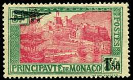 1933 Aviation,Airplane,Sailing Ships,Harbor,Fortress,Monaco,Mi.137,MNH,CV=$80 - Airplanes