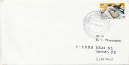 AAT -  AUSTRALIAN ANTARCTIC TERRITORY  -  CASEY  -  31 JAN 1974  FD  ,  Schwertwal (Orca) - Brieven En Documenten