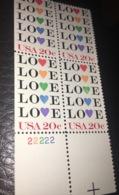 See Photos. USA. Stamps. Scott # 2072 MNH Block Of 4. Love 1984 - Vereinigte Staaten