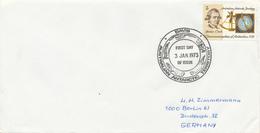 AAT -  AUSTRALIAN ANTARCTIC TERRITORY  -  DAVIS  -  3  JAN 1973  FD  ,  James Cook - Brieven En Documenten